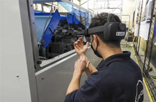 Finding the best method of digital or augmented reality (AR) support for maintenance