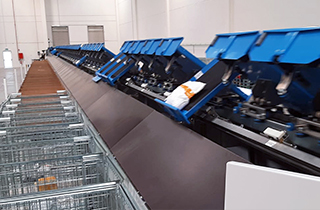 Mox doubles their capacity by implementing automated sorting