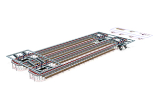 Jennyfer expands their distribution center with two split tray sorters