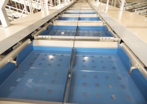 Double split trays