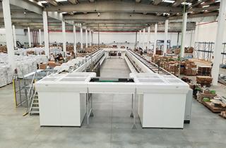 Jevaso split tray sorter