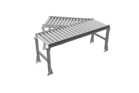 Merge roller conveyor