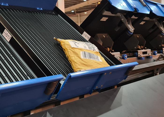 Sending LR-sorter trays